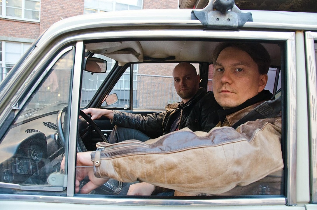 Samuli Torssonen (the producer) and Jussi Lehtiniemi (the director) ready to rumble!